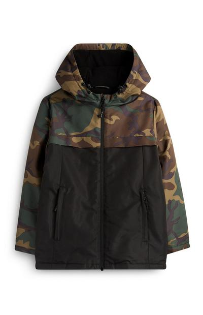 Older Boy Camo Jacket