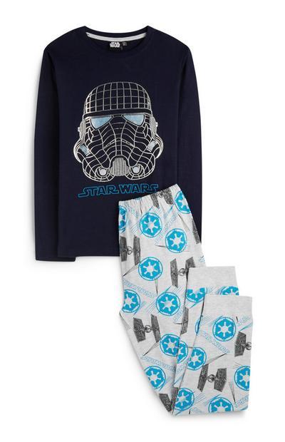 Camiseta y pantalón de pijama «Star Wars» para niño mayor