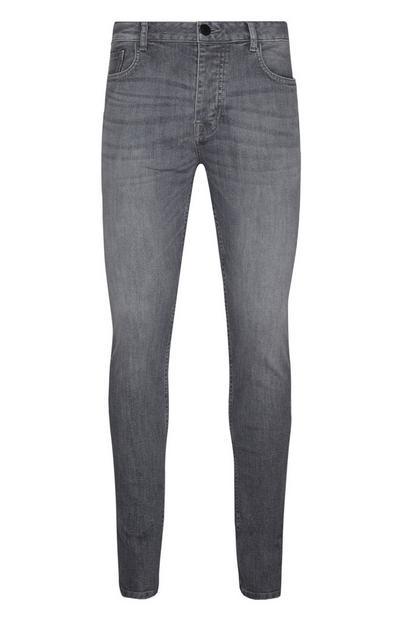 Jean skinny gris stretch