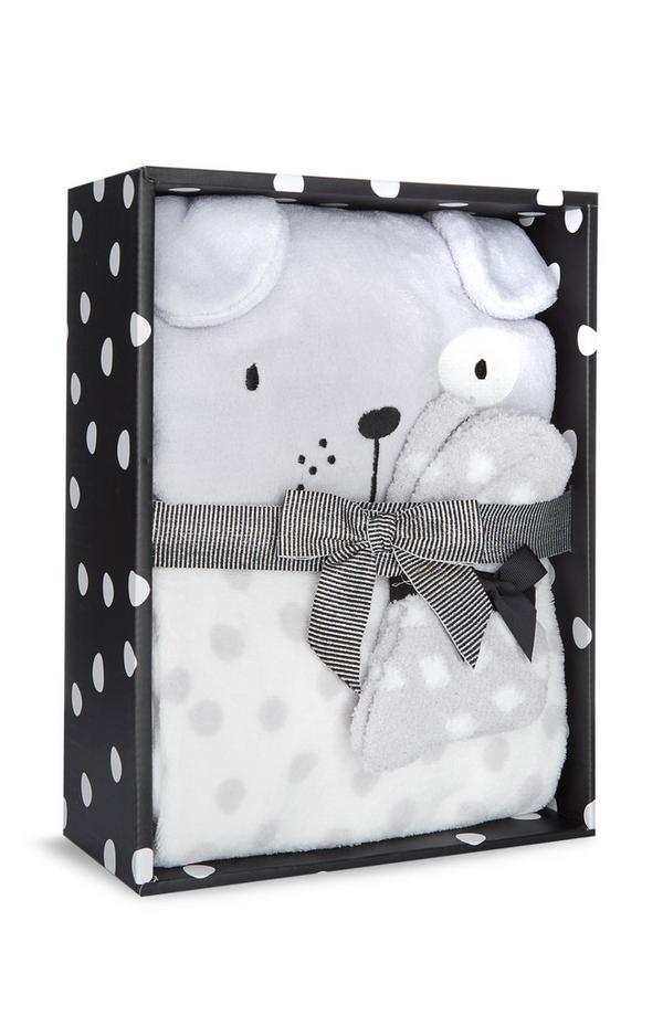 Caja regalo con pijama de felpa sintética