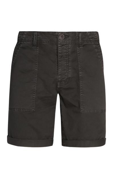 Grey Chino Shorts