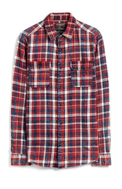 Rdeča karirasta srajca