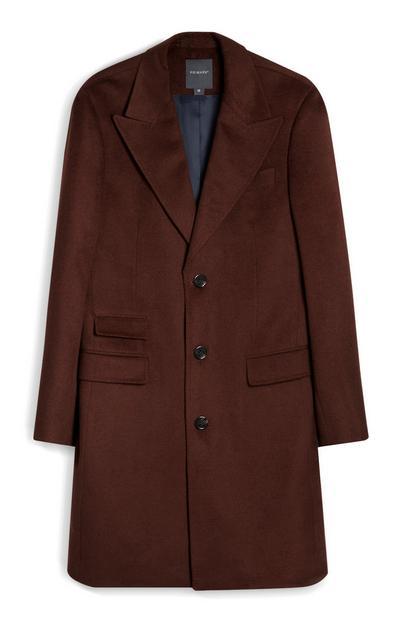 Wollen jas, bruin