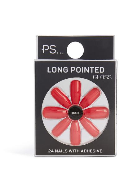 Faux ongles pointus