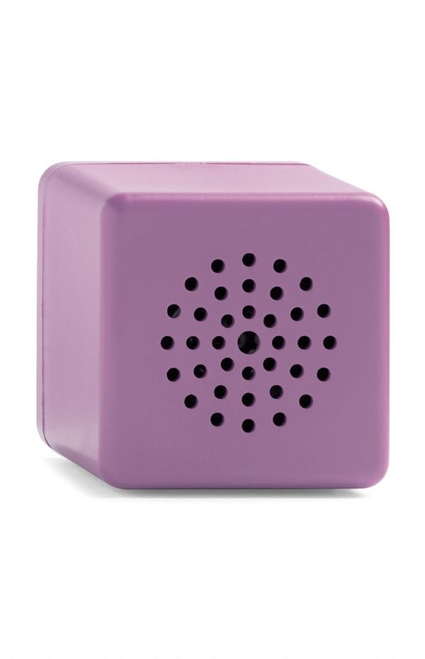 Purple Mini Cube Wireless Speaker