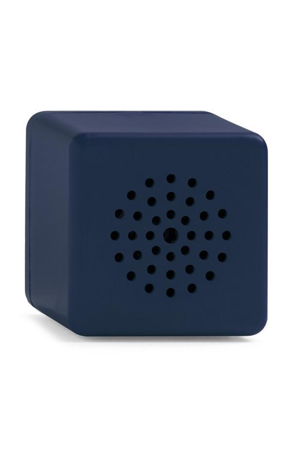 Coluna Bluetooth sem fios azul-marinho