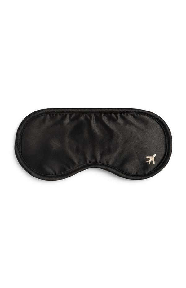 Black Travel Eye Mask