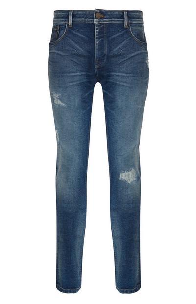 Slim-Fit-Jeans im Used-Look