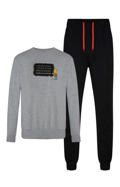 """Bart Simpson"" Pullover und Jogginghose"