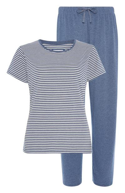 Pyjamaset van duurzaam katoen