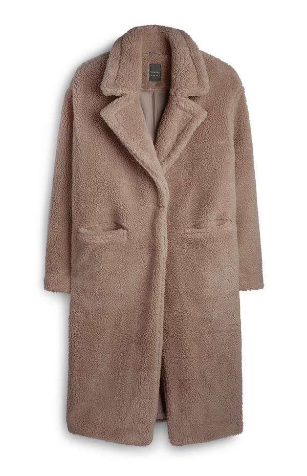 Light Brown Teddy Coat