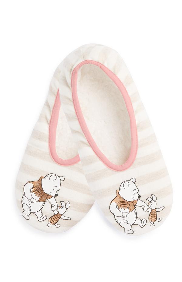 Copati v obliki nogavic Medvedek Pu