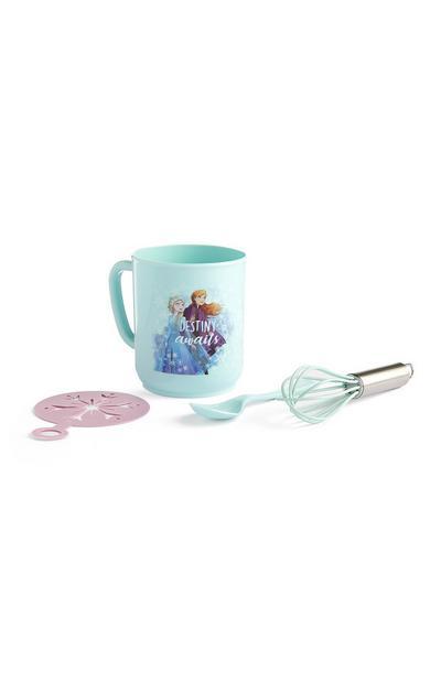 Mintgroene Frozen-cadeauset voor chocolademelk
