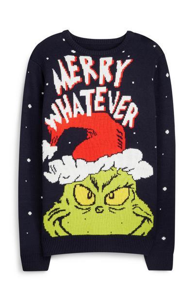 """""""The Grinch"""" Weihnachtspullover"""