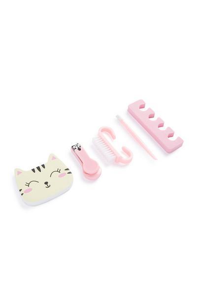 Kit de manicura de gato