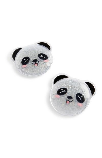 Ojos de gel de panda