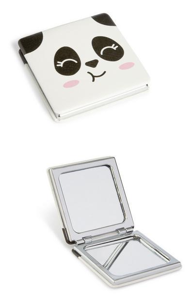 Specchietto compatto con panda