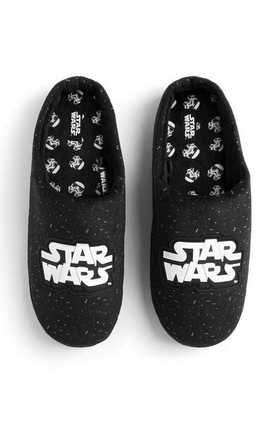 Pantofole bianche e nere Star Wars