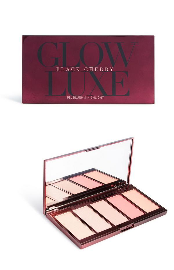Palet Black Cherry met blusher en highlighter