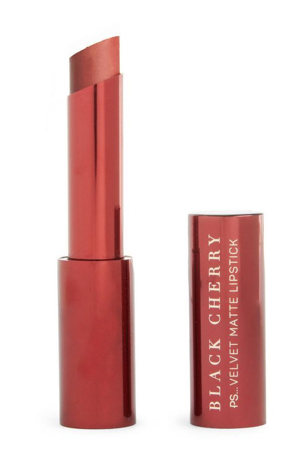 Black Cherry Dark Velvet Matte Lipstick