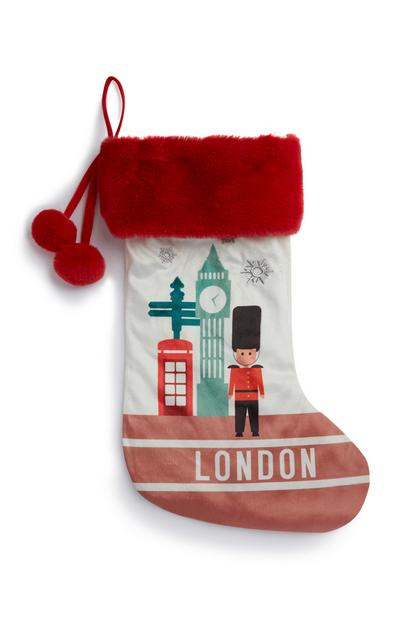 London Christmas Stocking