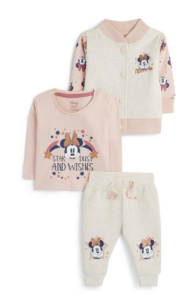 Baby Girl 3-Piece Minnie Mouse Set