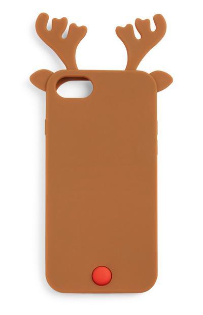 Carcasa para móvil de renos