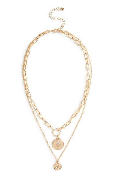 Ogrlica s horoskopskim znamenjem