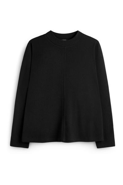 Black Batwing Sweater