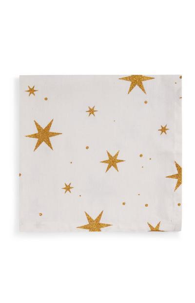 Servetten met sterrenprint