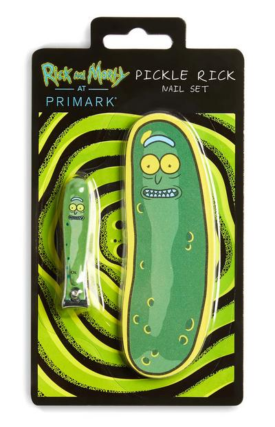 Lime et coupe-ongles Rick et Morty Pickle Rick