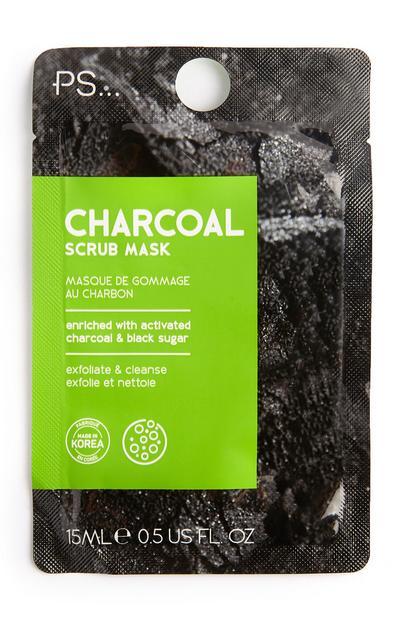 Maschera esfoliante al carbone