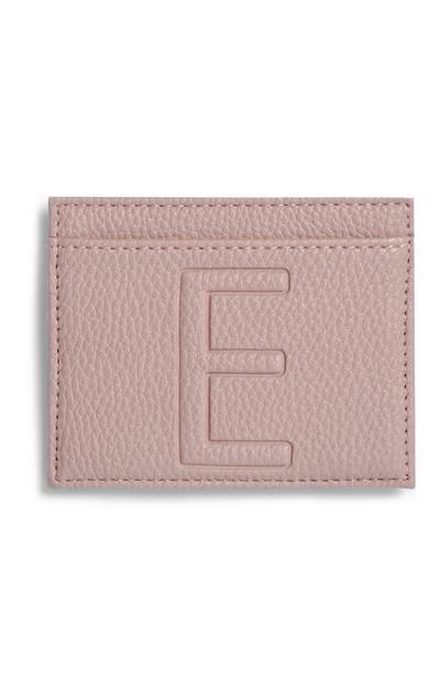 Ovitek za kartice s črko E