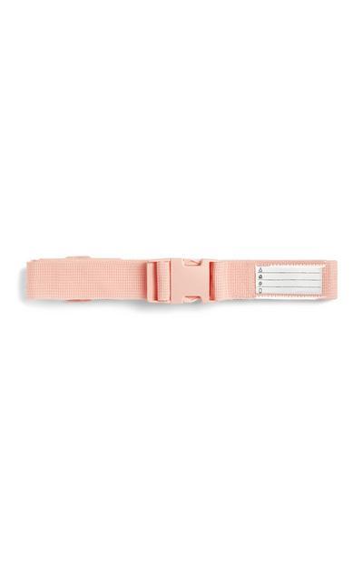 Roze kofferriem