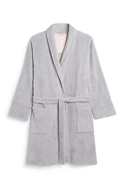 Light Grey Dressing Gown
