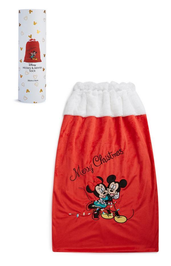 Minnie And Mickey Christmas Sack