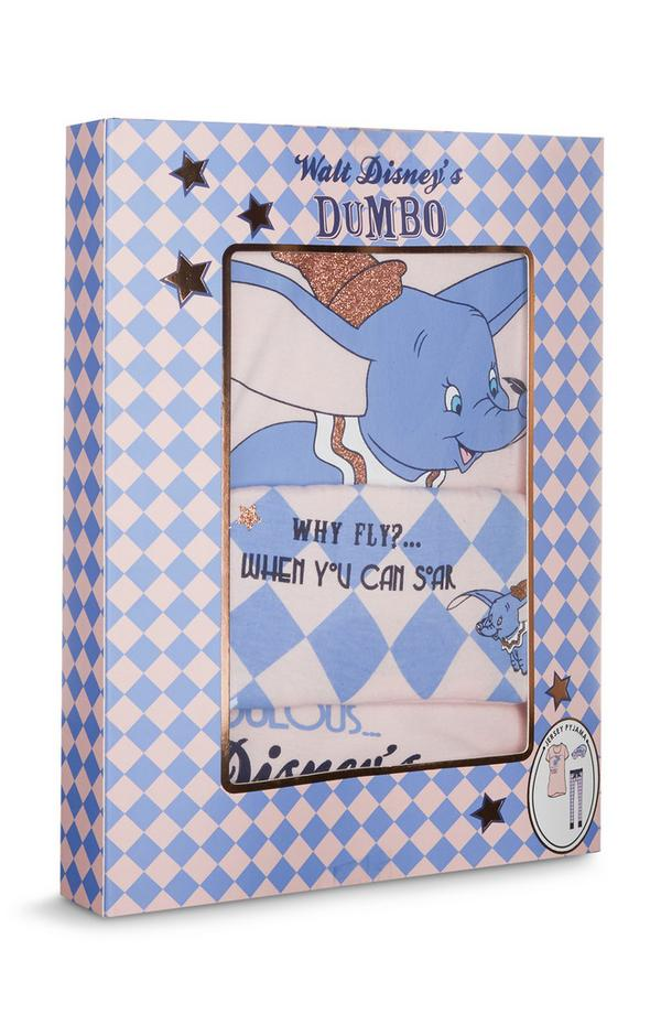 Caja de regalo con pijama de Dumbo