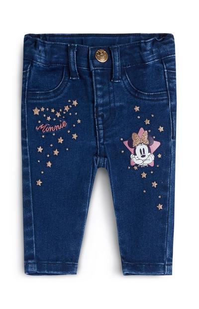 Jean Minnie Mouse bébé fille