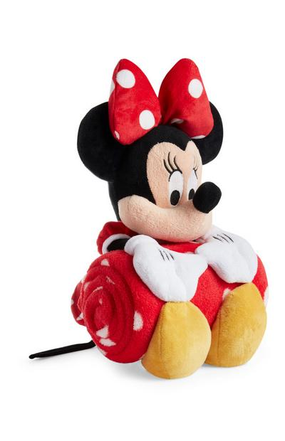 Minnie Mouse Teddy With Red Throw