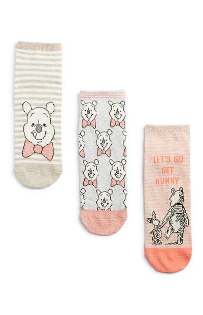 """""""Winnie Puuh"""" Socken, 3er-Pack"""