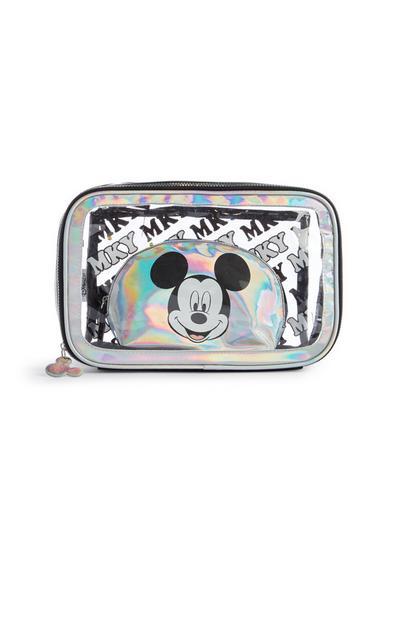 Holografska torbica za ličila Miki Miška