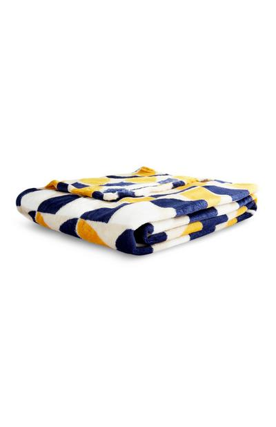 Small Printed Supersoft Throw