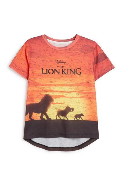 T-shirt Lion King, jongens