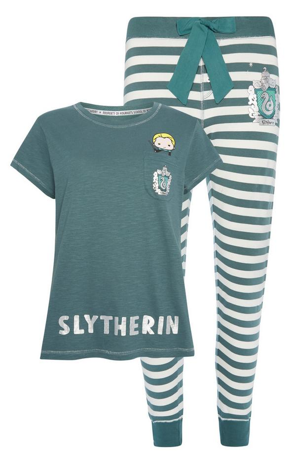 Harry Potter Pyjama Set Women/'s Shorts /& Top Blue Hogwarts Ladies Primark