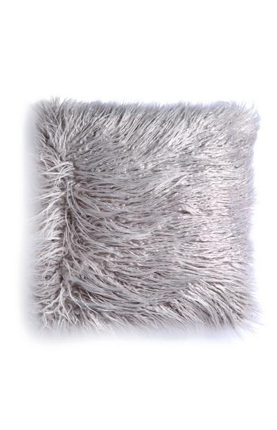 Coussin gris doux