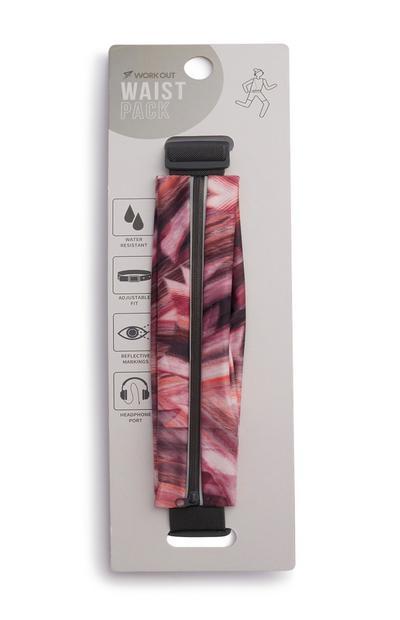 Pack exercícios cintura cor-de-rosa