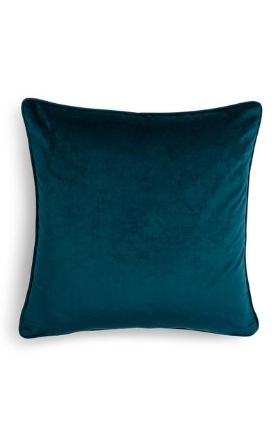 Teal Velvet Cushion Cover