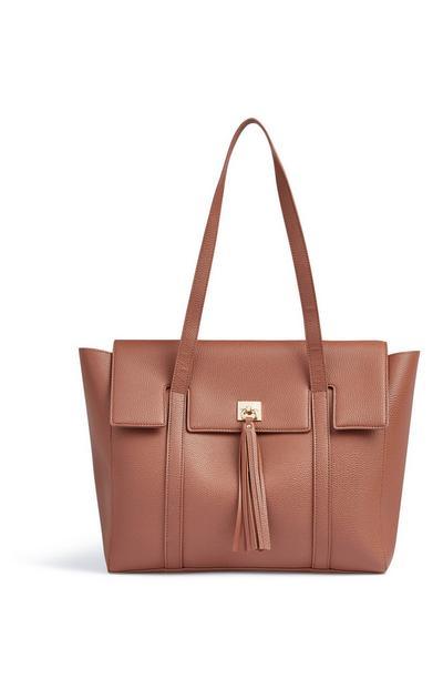 Rjava torbica s cofom