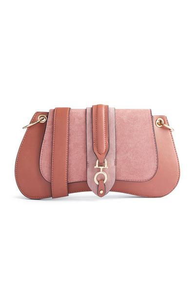 Bolsa sela cor-de-rosa