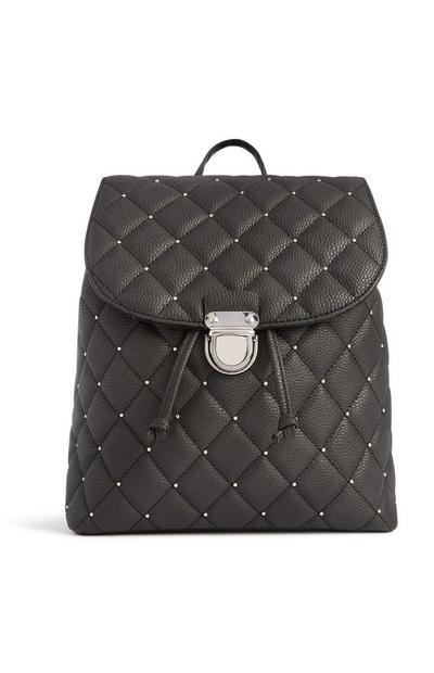 Black Stud Backpack